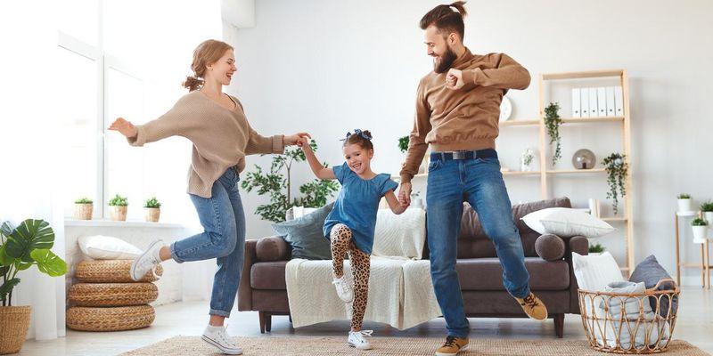 Bewegung Familie