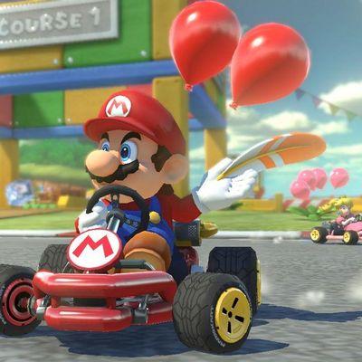 Mario lädt wieder zum Wettrennen ein!