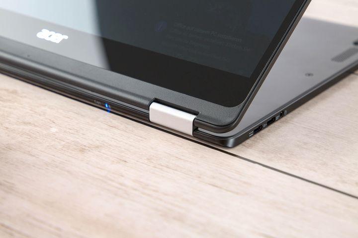 Das Acer Spin 7 kann im im Handumdrehen in ein 14-Zoll-Tablet verwandelt werden.