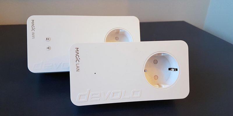 """Das """"devolo magic 2 WiFi Starter Kit"""" ist einfach einzurichten."""