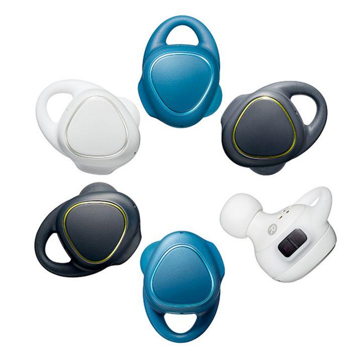 Fitness-Daten über Kopfhörer liefert der Samsung Gear IconX.