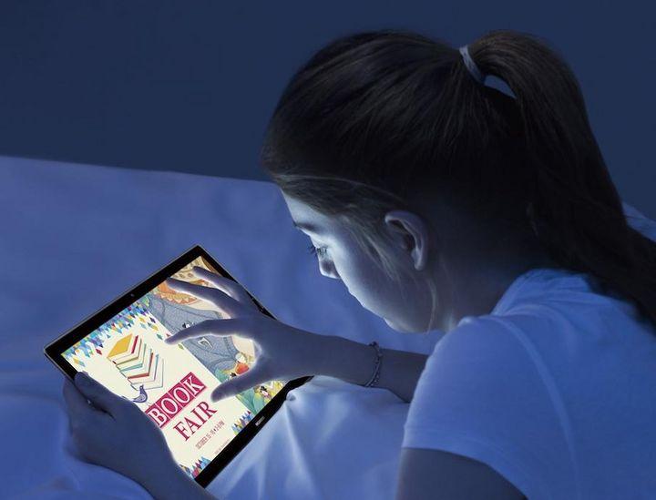 """Der """"Eye Comfort Modus"""" am """"MediaPad M5"""" von Huawei schont die Augen."""
