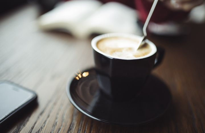 Kaffee ist zum Genießen da.
