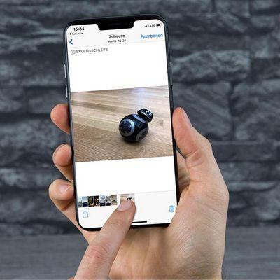 Animierte GIFs mit dem iPhone X machen.