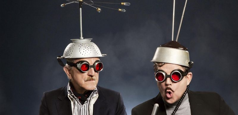 """Das Schweizer Electronic-Duo """"Yello"""" veröffentlicht das 13. Studioalbum"""