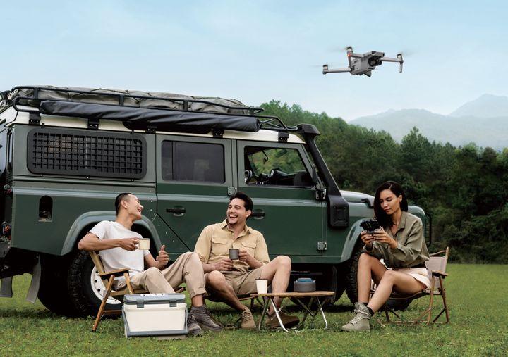 """Die """"DJI Mavic Air"""" bietet Flugspaß für technikaffine Freizeitpiloten."""