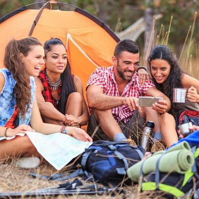 App-Tipps für Camper und Wanderer.
