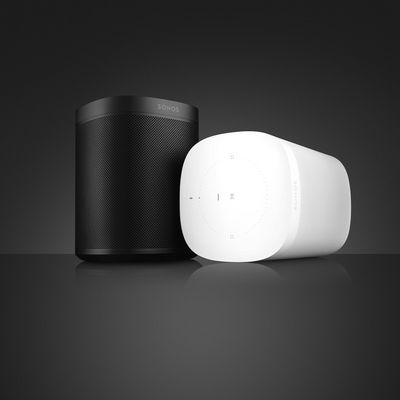 Der Sonos One ist der erste smarte Lautsprecher, der mehrere Sprachassistenten unterstützt.