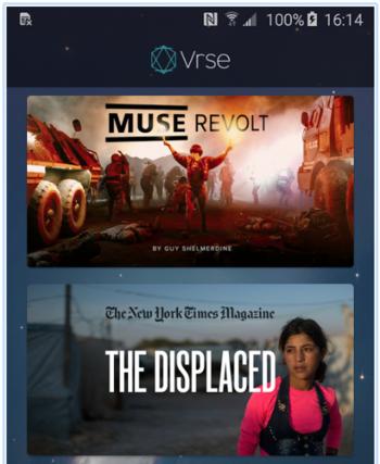 Virtual Reality-App