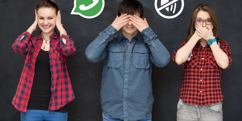 """Gruppen-Chats bei """"WhatsApp"""" Stumm schalten."""