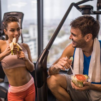 Bestimmte Lebensmittel fördern den Muskelaufbau.