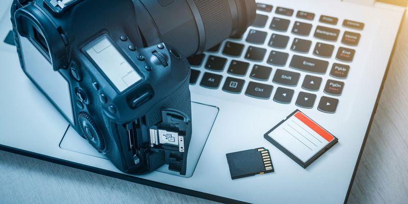 Speicherkarten für die Kamera.