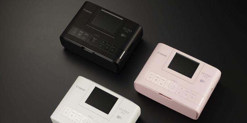 Der Drucker kommt in drei Farben.
