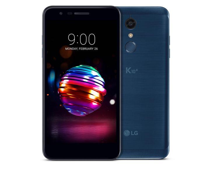 """In Sachen Materialanmutung wirkt das Metallgehäuse des neuen """"LG K10"""" absolut hochwertig."""