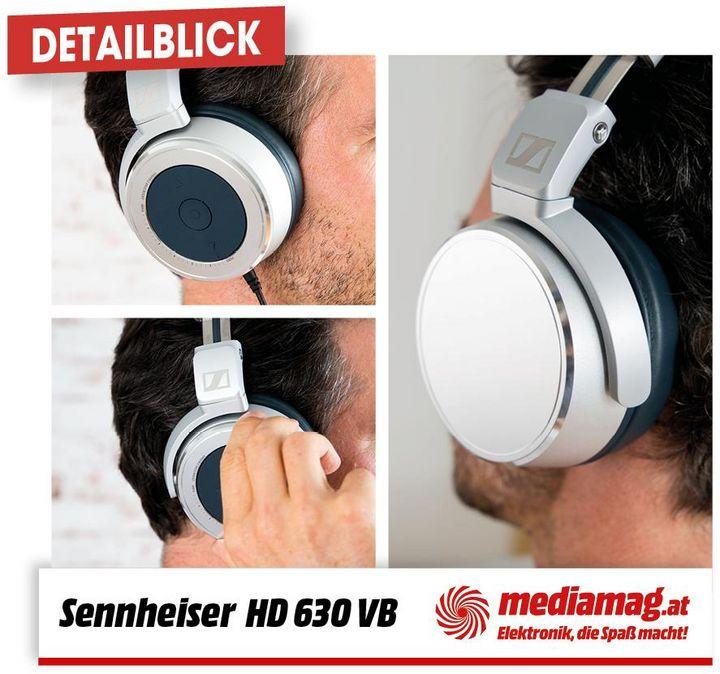 Der Sennheiser HD 630VB bietet höchste Soundqualität für unterwegs.