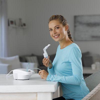 Inhalatoren sind für Erwachsene und Kinder praktisch in der Anwendung.