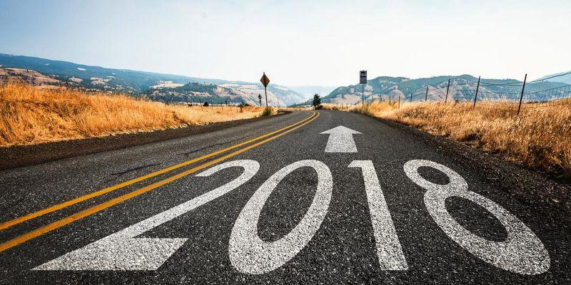 Gute Vorsätze für 2018.