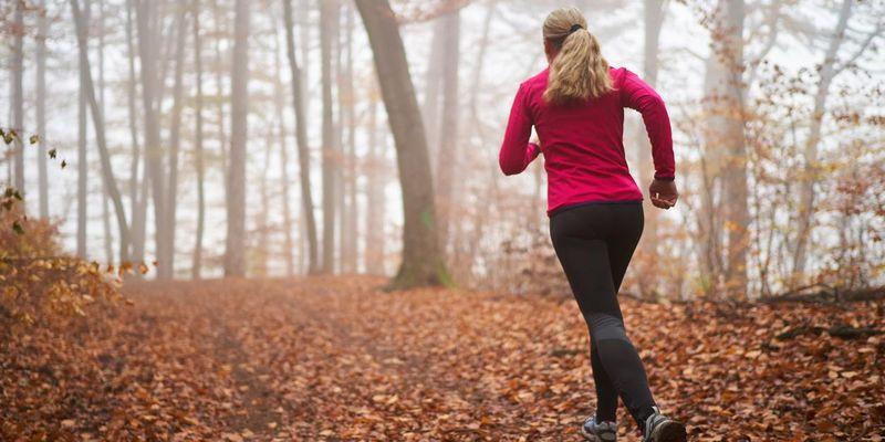Sportlich durch den Herbst.