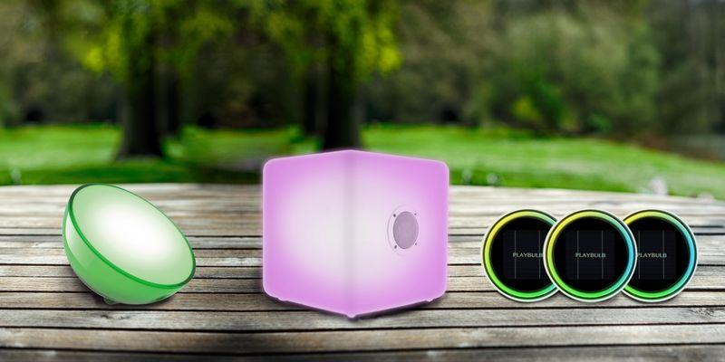 Angenehme Beleuchtung im Garten mit diesen drei Produkten.