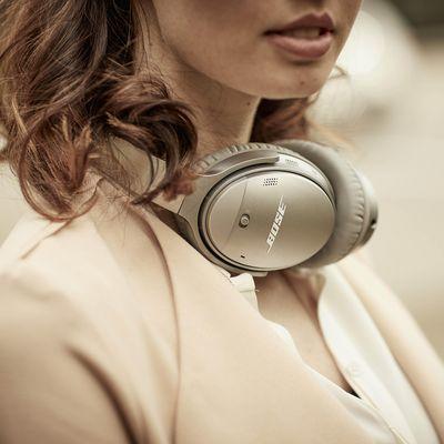 Noise Cancelling eliminiert störende Geräusche.