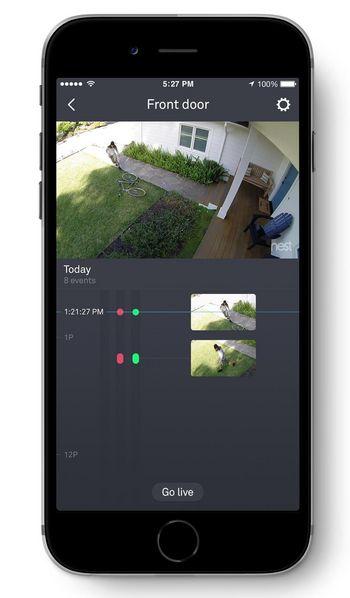 Steuerung des Geräts per App