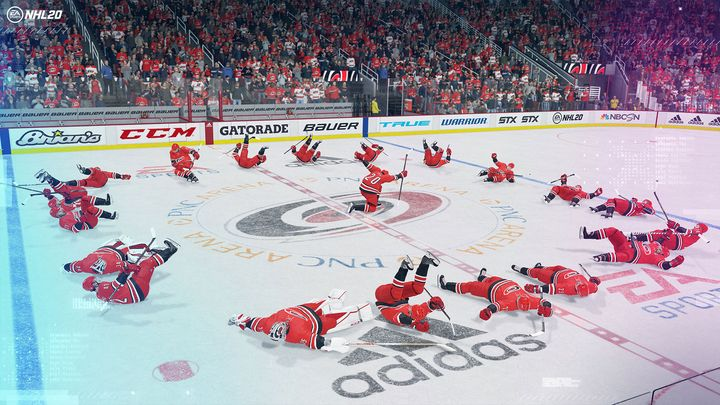 Die Eishockey-Simulation ist wieder da.