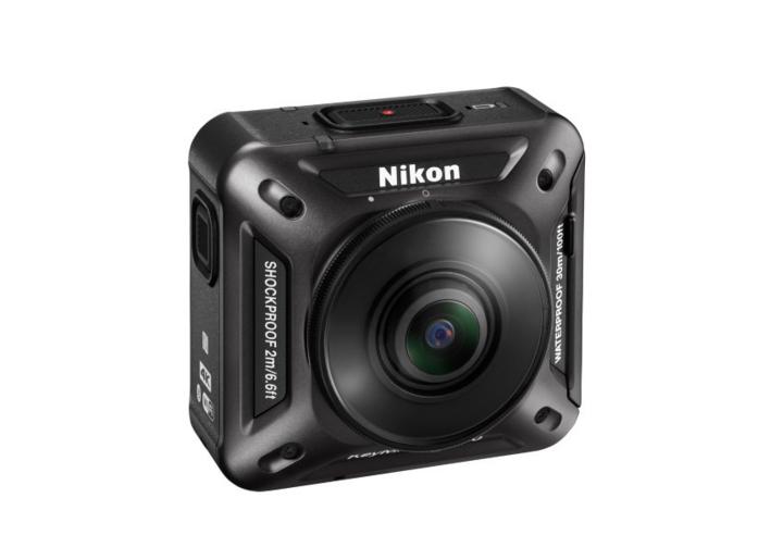 """Das Top-Modell """"KeyMission 360"""" ist wasser- und sturzfest und bietet 360-Grad-Videos in 4K-Qualität."""