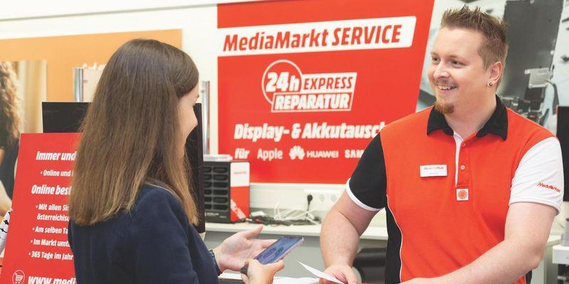 MediaMarkt: Reparaturservice bietet rasche Hilfe und fundierte Beratung.