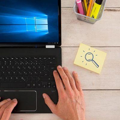 Windows 10: Suchfunktion optimal nutzen.