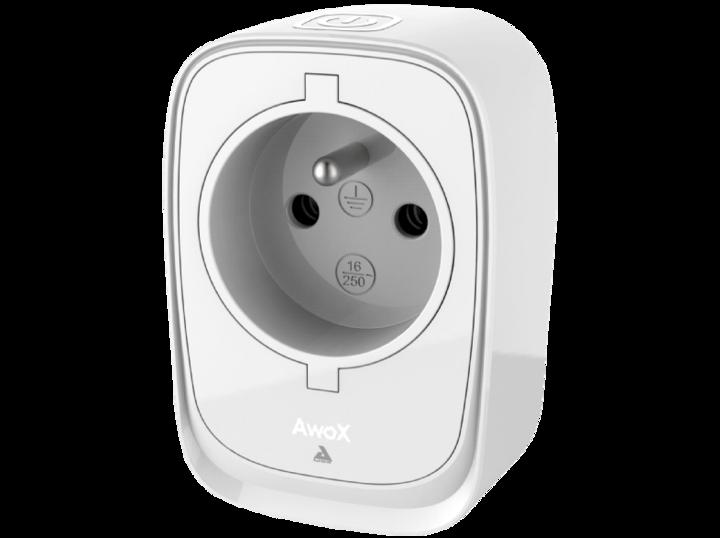 """Praktisch: der """"AWOX Smart Plug Netzstecker""""."""
