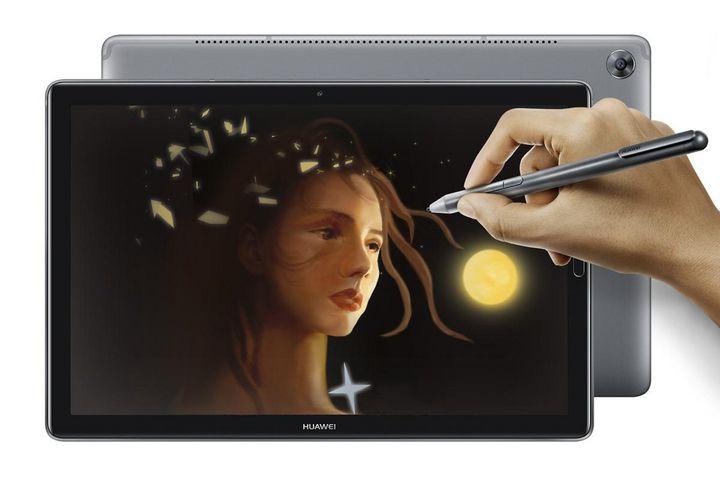 """Als Betriebssystem nutzt das """"MediaPad M5"""" Huaweis eigene Benutzeroberfläche EMUI 8.0."""