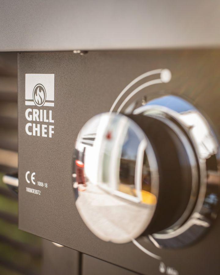 Der Grill lässt sich leicht bedienen.