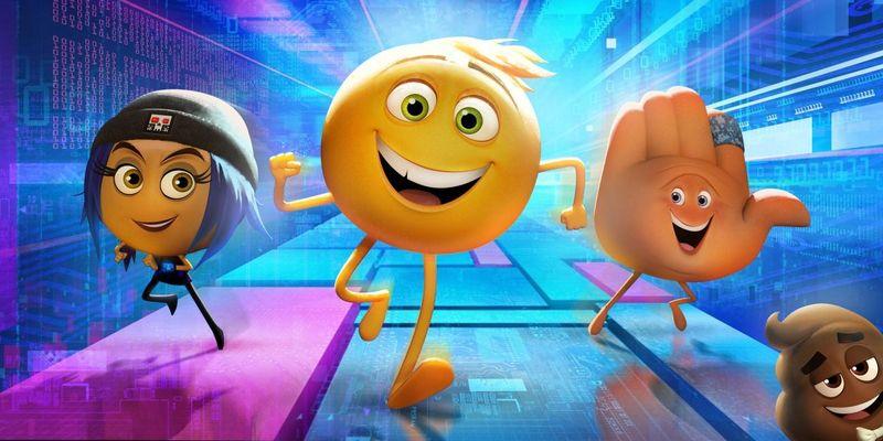 """Die bunte Welt der Smileys ist in """"Emoji: Der Film"""" zu sehen."""