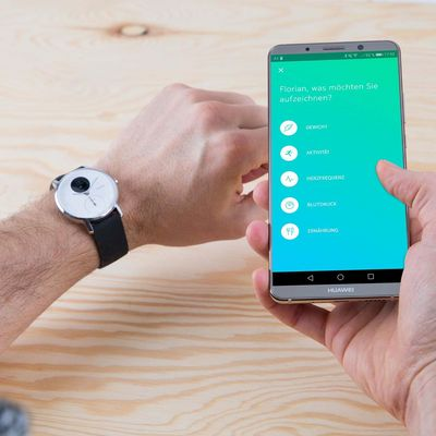 Elegant und smart: Nokia Steel HR.