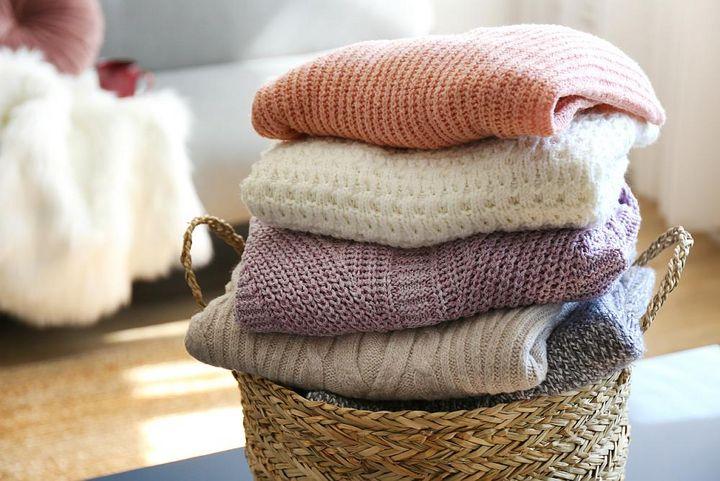 Wolle wird bei niedrigend Temperaturen und schonend gewaschen.