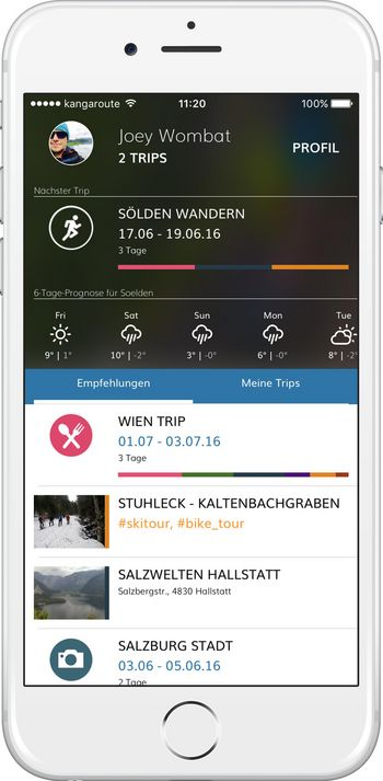 Kangaroute-App