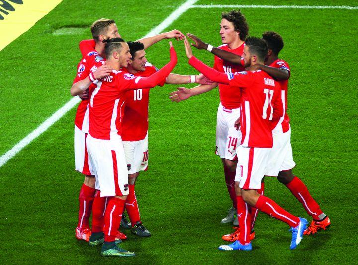 Österreich bei der Fußball-EM
