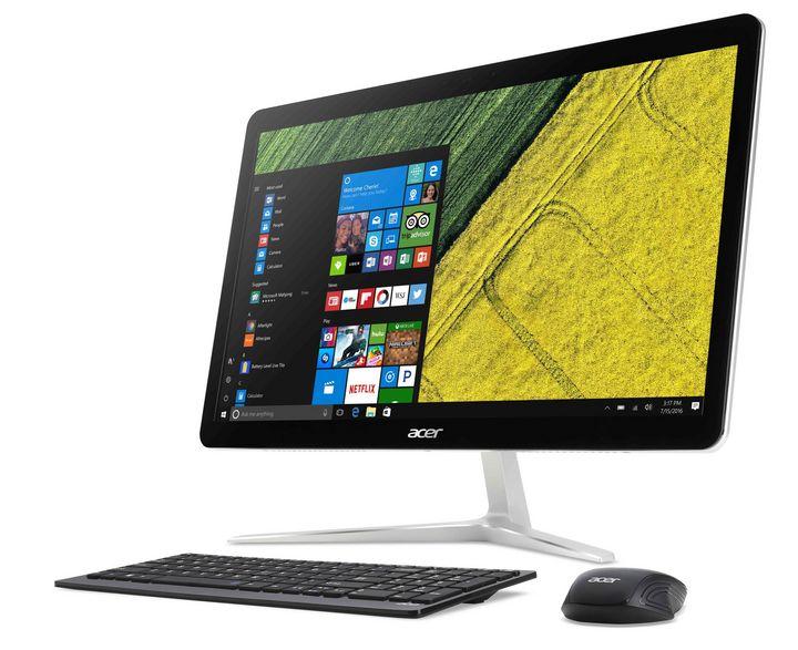 """Der """"Aspire U27"""" mit 27-Zoll-Display kommt als erster All-in-One-PC mit vollkommen lautloser LiquidLoop-Flüssigkeitskühlung."""