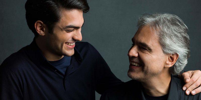 """Andrea Bocelli stellt sein Album """"Si"""" vor."""