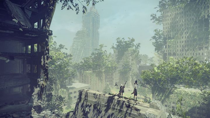 "Screenshot aus ""Nier: Automata"""