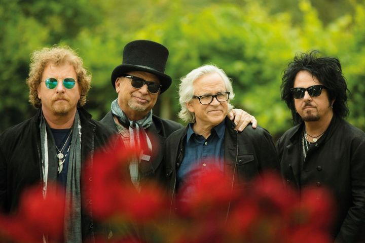 """Toto kommen zum """"Clam Rock""""."""
