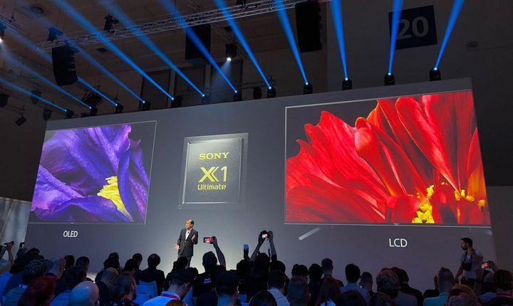 """Der neue X1 Ultimate Prozessor von Sony ist das Herzstück der """"Master Series""""-Fernseher."""