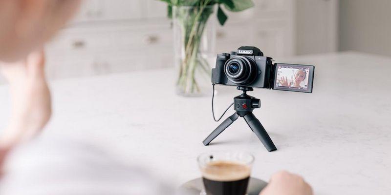 """Panasonic Lumix G110"": 20 Megapixel Auflösung und 4K-Videos."