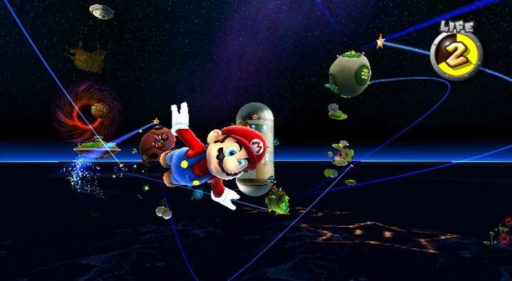 """In """"Super Mario Galaxy"""" eroberte der Klempner das Weltall."""