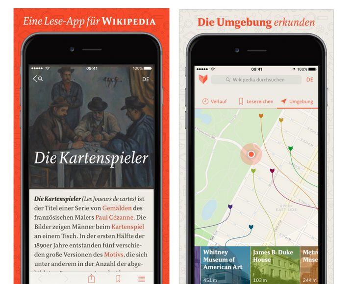 Screens von Viki am iPhone.
