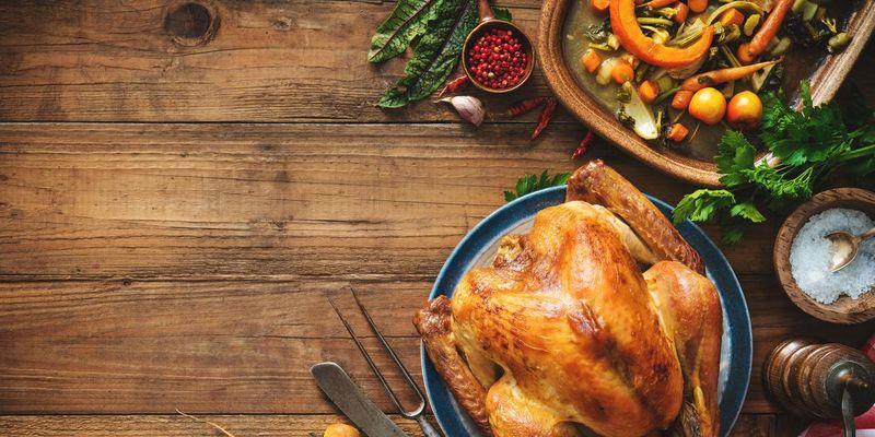 Weihnachtsessen ohne industriell verarbeitete Nahrungsmittel und chemische Zusätze