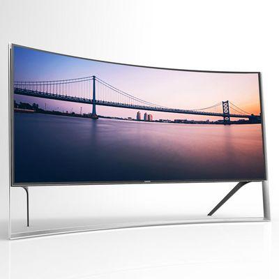 Curved TVs - eine runde Sache