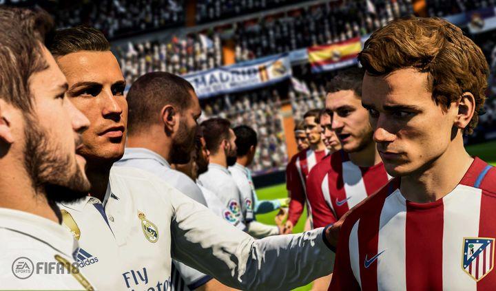 """""""FIFA 18"""" vereint die größten Stars des Fußballs auf Ihrer Konsole."""