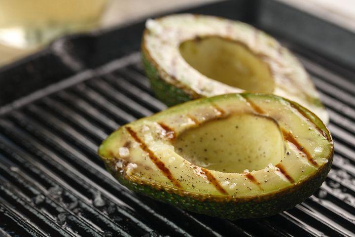 Gegrillte Avocado.