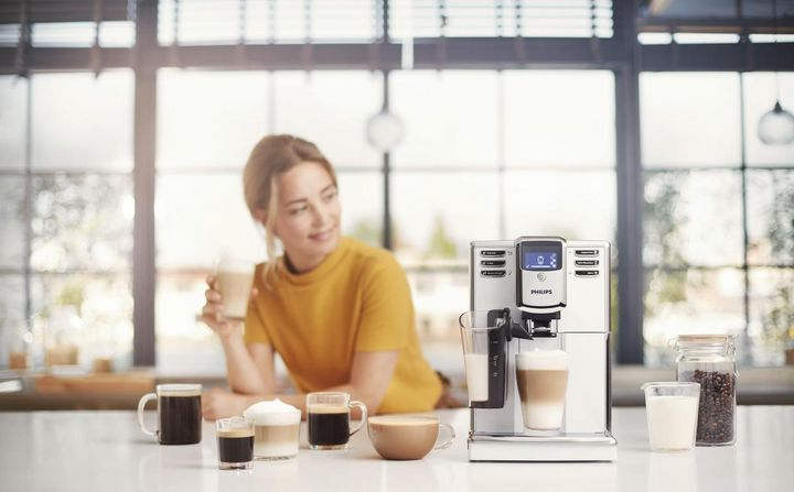 Must-have der smarten Küche: Philips Series 5000 mit LatteGo-System